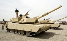 Video: ASV armijas varenais bieds - tanks 'Abrams'