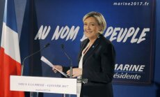 Bankas Francijā izvairās no tikšanās ar nacionālistu partijas līderi Lepēnu