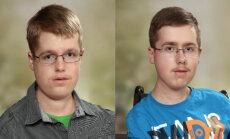 Ratiņkrēsls nav šķērslis diviem brāļiem fizikā un matemātikā saņemt vērtējumu 'izcili'