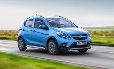 'Opel' mazākais modelis 'Karl' ieguvis apvidus versiju 'Rocks'