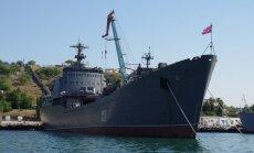 Sīrijas konflikts: Krievija uz Vidusjūru nosūta vēl vienu karakuģi