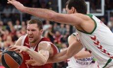 Strēlniekam 12 punkti zaudējumā pret vienu no Eirolīgas vadošajām komandām 'Olympiacos'