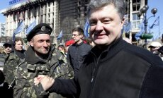 Ukrainas prezidenta vēlēšanu otro kārtu vēlas Putins, tāpēc tādas nebūs, paziņo Porošenko