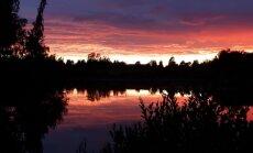 Foto: Romantisks vakars uz Druvienas dīķa