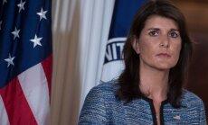 Heilija vaino cilvēktiesību organizācijas ASV aiziešanā no ANO Cilvēktiesību padomes