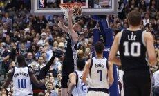 Bertāns ar lielisku otro puslaiku un 19 punktiem kaldina 'Spurs' uzvaru pār 'Mavericks'