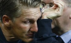 Germany Bastian Schweinsteiger before last match