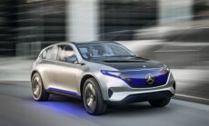 'Mercedes' parādījis 'Tesla Model X' potenciālo konkurentu