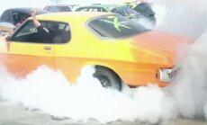 Jauns Ginesa rekords – visvairāk auto vienlaicīgi 'griež saulītes'