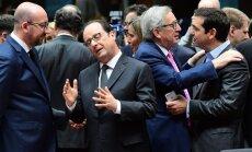 Ziemassvētku bonusi grieķiem un bezspēcība Sīrijā – noslēdzas gada pēdējais ES līderu samits