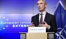 NATO nevēlas auksto karu ar Krieviju, paziņo Stoltenbergs