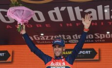Nibali 16.etapā sagādā mājiniekiem pirmo uzvaru šī gada 'Giro d'Italia' velobraucienā