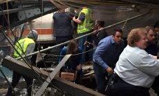 Vilciena katastrofā Ņūdžersijā vismaz trīs bojāgājušie
