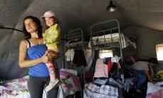 Krimā esošos Ukrainas bēgļus sāk pārvietot uz Krievijas reģioniem