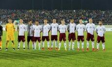 Latvija pēc zaudējuma Kosovai zaudē divas vietas FIFA pasaules rangā