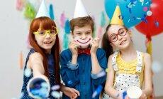 Piecas bērnu ballīšu tendences skaistiem un neaizmirstamiem svētkiem