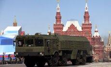 Krievija okupētajā Krimā grasoties izvietot kodolieročus
