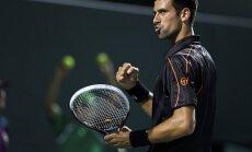 'US Open' ceturtdaļfinālā gaidāms Džokoviča un Mareja duelis