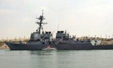 Pret ASV karakuģi Sarkanajā jūrā atkal izšauta raķete no Jemenas
