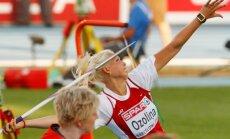 Šķēpmetēja Ozoliņa ar savu sezonas rekordu uzvar 'Rīgas kausu' sacensībās