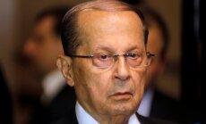 Par Libānas prezidentu ievēl 81 gadu veco 'Hezbollah' atbalstītāju