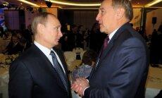 Soči 2014: SOK prezidenta pieņemšanā Putins spiež roku Bērziņam