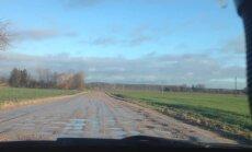 Brūkošo ceļu dēļ Bauskas dome pieprasa izsludināt ārkārtas situāciju