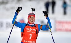 Российские биатлонисты сенсационно одержали двойную победу над Фуркадом