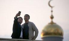 Foto: 250 000 ticīgo Maskavā svin Upurēšanas svētkus