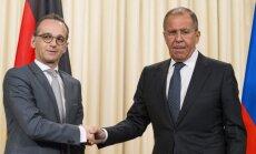 Krievija un Vācija strādās, lai saglabātu Irānas kodolvienošanos