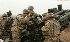 Latvijā ieradušies 140 nākamās ASV karavīru rotācijas kājnieki