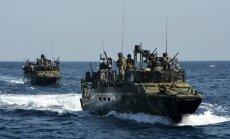 Irāna atbrīvo aizturētos ASV patruļkuģus