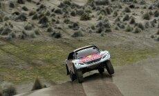 Peteransels uzvar Dakaras rallija septītajā posmā un palielina pārsvaru pār Lēbu
