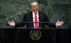 Трамп на Генассамблее ООН перечислил угрозы миру