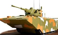 Tīmeklī noplūst pirmie Krievijā topošās BMMP kaujas mašīnas attēli