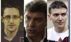 Snoudens, Ņemcovs un citi - atklāti 2015. gada Saharova balvas kandidāti