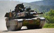 """В Латвию прибыли 225 солдат США, вслед за ними пришлют танки """"Абрамс"""""""