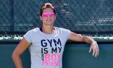 Olimpiskā vicečempione Moresmo uzņemta Starptautiskajā tenisa slavas zālē