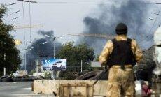 Video: Vairākos Doņeckas rajonos turpina skanēt šāviņi un sprādzieni