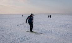 Jūrmalā pieejama 22 kilometrus gara distanču slēpošanas trase