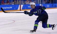 Trešais dopinga skandāls Phjončhanā: pieķerts Slovēnijas izlases hokejists