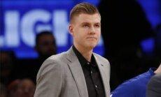 'Knicks' pēdējās stundās pirms NBA drafta cenšas aizmainīt Porziņģi