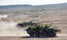 Ukraina plāno sarīkot kopējas militārās mācības ar NATO