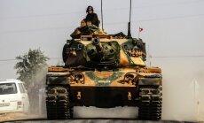 Турция начала операцию против курдов на севере Сирии