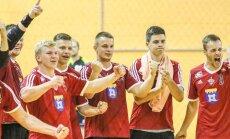 'Tenax' uzvara līderu duelī liek punktu handbola virslīgas regulārajam čempionātam