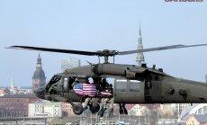 Foto: Kā Latvijas un ASV karavīri Daugavā desantējās