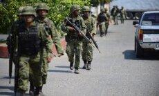 Meksikas armija atbrīvo 165 noziedznieku gūstā nonākušus migrantus