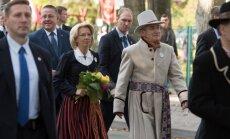 ФОТО: Спикеры Сеймов Латвии и Литвы отметили в Паланге День единства балтов