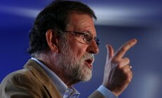 Rahojs sola pielikt punktu separātistu izraisītajam juceklim Katalonijā
