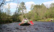 Testējam Latvijas upes: straujā Brasla